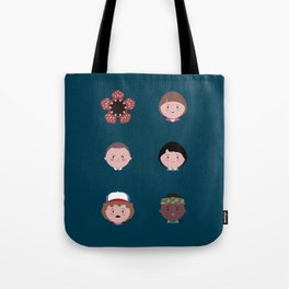 Stranger Icons Tote Bag