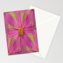 Endless Pink Cosmos Stationery Cards