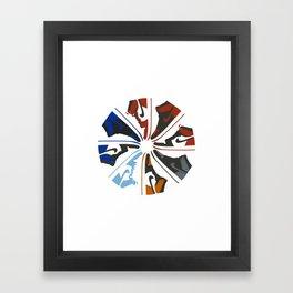 Color Wheel No.001 Framed Art Print
