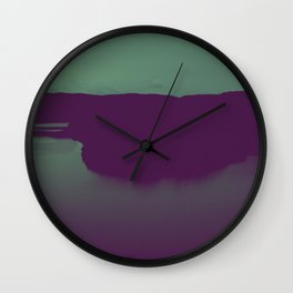 Nature went swimming V Wall Clock