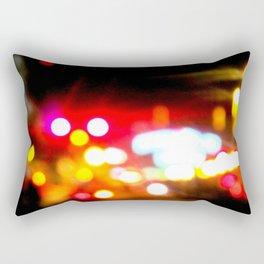 bokeh in manhattan Rectangular Pillow