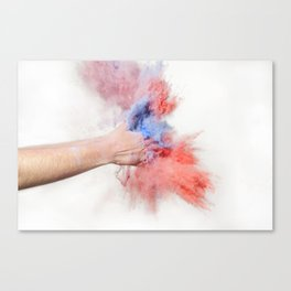 Powder Canvas Print