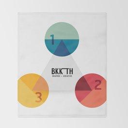 Modern Design Minimal style graphic  Throw Blanket
