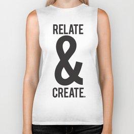 Relate & Create Biker Tank
