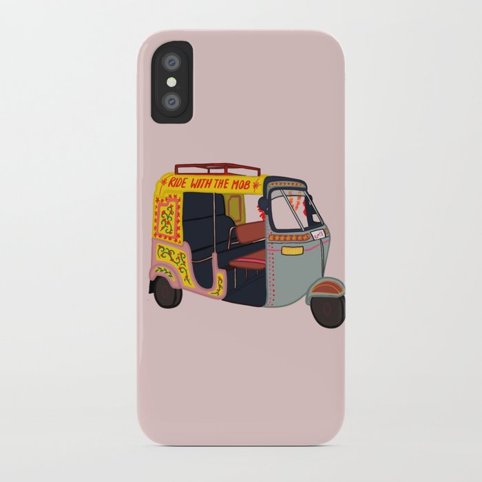 ride with the mob iphone case