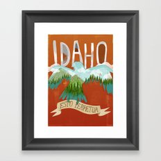 Idaho Framed Art Print