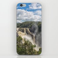 geology iPhone & iPod Skins featuring Beautiful Barron Falls by Wendy Townrow