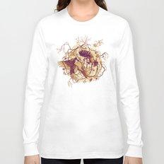 Honey & Sorrow (grey) Long Sleeve T-shirt