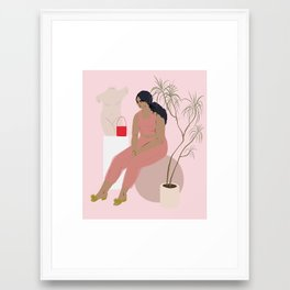 inspo Framed Art Print