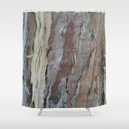 TEXTURES -- Fern-Leaved Ironwood Bark Shower Curtain
