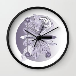 Aquadesign Alliance Wall Clock