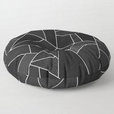 Black Stone Floor Pillow