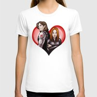 soviet T-shirts featuring Soviet Sweethearts by rnlaing