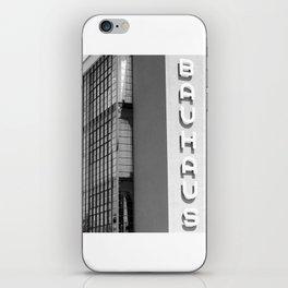 Bauhaus X iPhone Skin