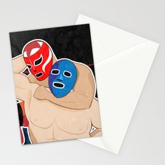 Lucha Libre Wrestling Stationery Cards