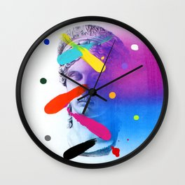 Composition 535 A Wall Clock