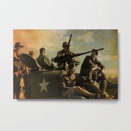 WWII Days Metal Print