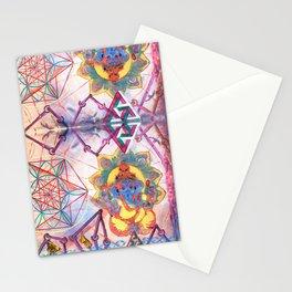 Hindu Geo Psych Stationery Cards