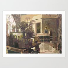 warble Art Print