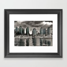 Vancouver Waterfront Framed Art Print