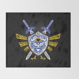 Heroes Legend - Zelda Throw Blanket
