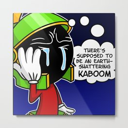 Where's the KABOOM Metal Print