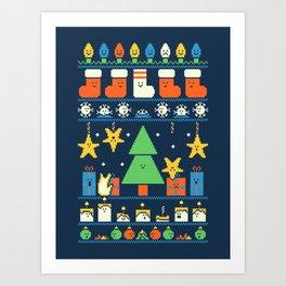 Merry Christmess Art Print