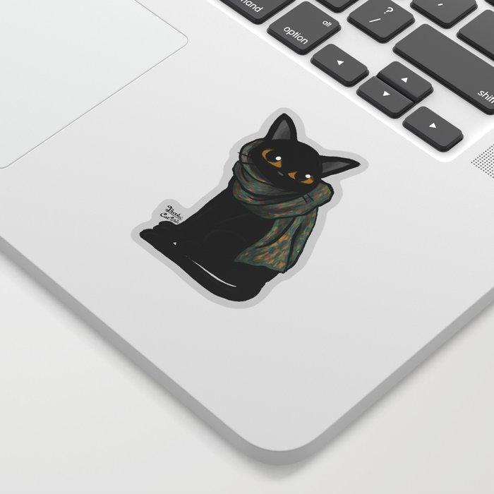 Scarf Sticker