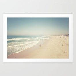 Hermosa Beach Art Print