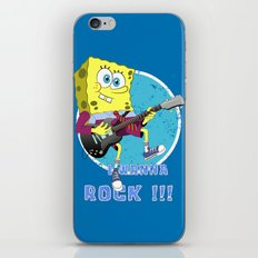 i wanna rock !!! iPhone & iPod Skin