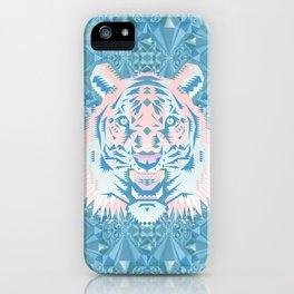 Pastel Quartz Tiger iPhone Case