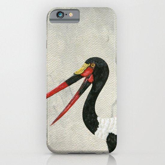 Saddle-billed Stork Quinn 2 iPhone & iPod Case