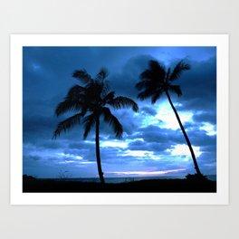 Palms of Hawaii Art Print