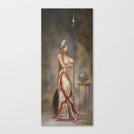 Queen of spades -La reina de picas. Canvas Print
