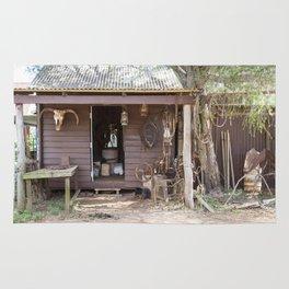 Old Timers Hut Rug