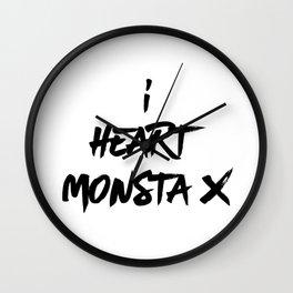 I Heart Monsta X - Monbebe Wall Clock