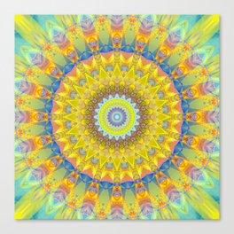 Mandala sun 2 Canvas Print