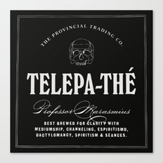 TELEPA-THÉ Canvas Print