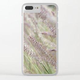 Purple Rustle Clear iPhone Case