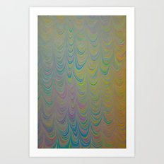 Marble Print #13 Art Print