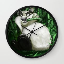 the guardian of the bamboo forest Wall Clock