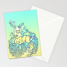 earthy delights Stationery Cards