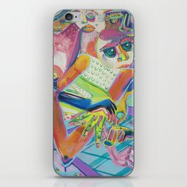 Interior Outer Space iPhone Skin
