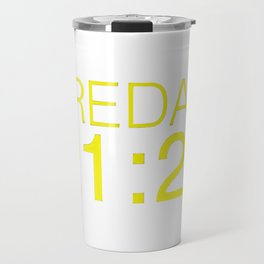 Fredag 21:21 Travel Mug