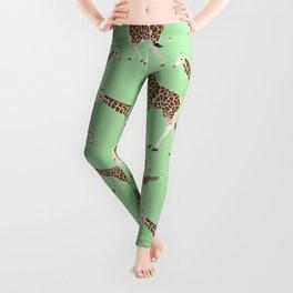 Cute Giraffe Pattern  Leggings