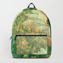Abstract Daisy Backpack