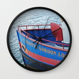 Bright Steamboat Wall Clock
