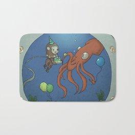 Cal's Underwater Birthday Party Bath Mat