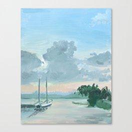 Bayfront - Hamilton Canvas Print