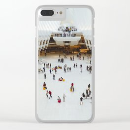 People in Oculus,  New York Clear iPhone Case